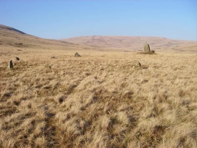 Maen Mawr and stone circle
