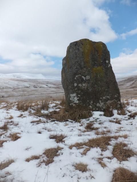 Waun Leuci standing stone