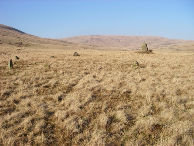 Maen Mawr and stone circle